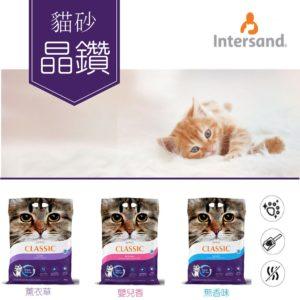 【現貨 快速出件】Intersand 晶鑽貓砂 抗菌除臭凝結貓砂 礦砂
