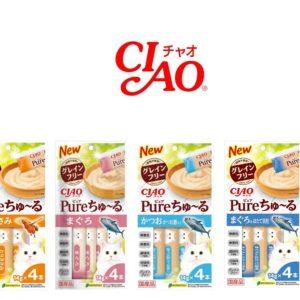 CIAO Pure純初乳無色素香料肉泥 14gx4入/包