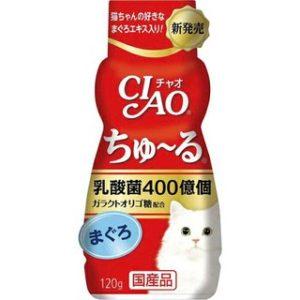 《日本CIAO》乳酸菌 啾嚕肉泥胖胖瓶 鮪魚/雞肉口味 120g
