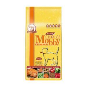 【】Mobby 莫比成貓抗毛球專業配方 1.5 kg(成貓化毛飼料)