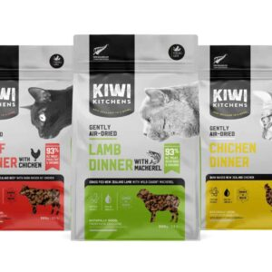 【】Kiwi Kitchens奇異廚房醇鮮風乾貓糧