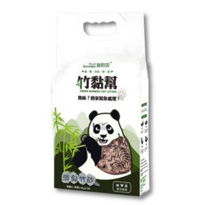 竹黏幫-消臭竹砂 植物性貓砂 仿豆腐砂6L (可沖馬桶、超強除臭)
