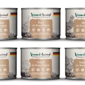【】Venandi Animal 德國貓王 單一蛋白質主食罐