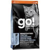 【短效促銷】Go! 低致敏鱈魚無穀貓咪配方 16磅LB