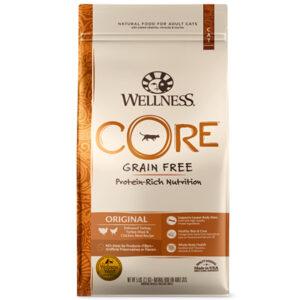 【買一送一】WELLNESS 寵物健康 CORE 無穀系列-成貓《經典美味食譜》11磅